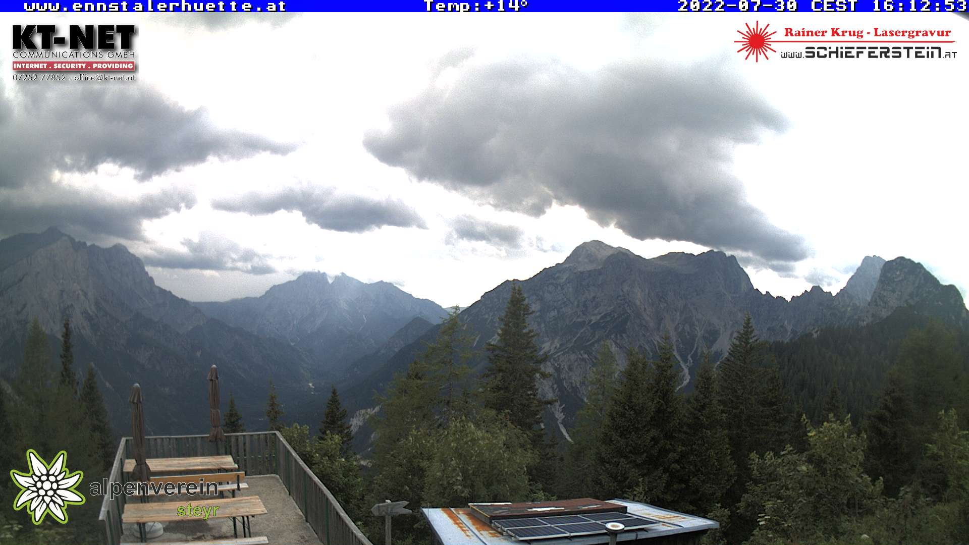 Webcam Ennstaler Hütte